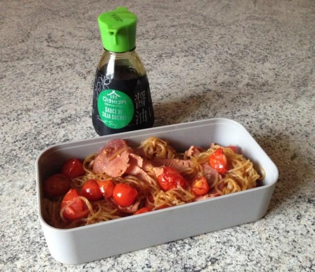 bento shirataki bacon tomates 1 - Dossier : Spécial nouvel an chinois !