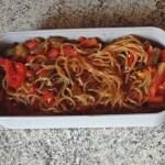 bento shirataki sautes legumes 1 - Shirataki de konjac aux légumes façon chop suey