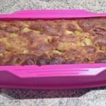 cake fondant rhubarbe 2 - Cake fondant à la rhubarbe