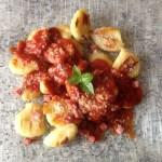 gnocchis parmesan 1 - Gnocchis au Parmesan + sauce tomate basilic