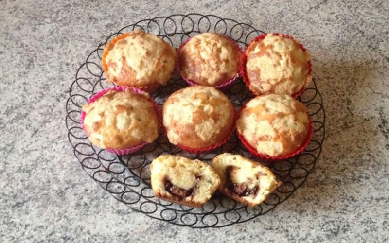 Muffins au Nutella façon crumble
