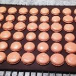 macarons chocolat clementine prepa 3 - Macarons chocolat et clémentine