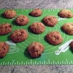 cookies fruits secs caramel prepa 2 - Cookies aux fruits secs et caramel au beurre salé