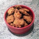 cookies poivron chorizo 1 - Cookies apéritifs au chorizo, poivron, parmesan