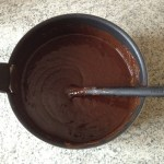 fondant chocolat coco prepa 1 - Double fondant chocolat / noix de coco
