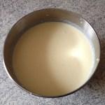 fondant chocolat coco prepa 6 - Double fondant chocolat / noix de coco