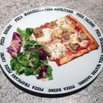 pizza artichaut champignons 2 - Pizza artichaut, champignons, mozzarella