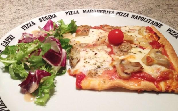 pizza artichaut champignons 3 - Dossier : Pizza party !