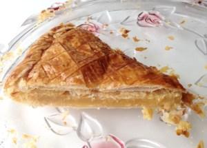 Recette de Galette des rois frangipane et crème de calissons