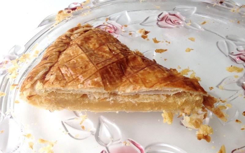 galette des rois calissons 3 - Zebra cake vanille-chocolat (Gâteau zébré / tigré)
