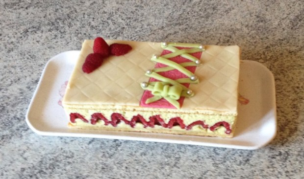 framboisier pistache 3 - Dossier : Gâteaux d'anniversaire