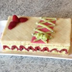 framboisier pistache 3 - Framboisier à la pistache