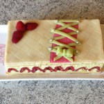 framboisier pistache 4 - Framboisier à la pistache