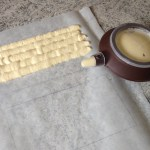 framboisier pistache prepa 2 - Framboisier à la pistache