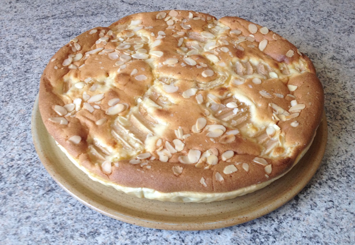 tarte poires chocolat frangipane 3 - Tarte aux poires, chocolat et frangipane