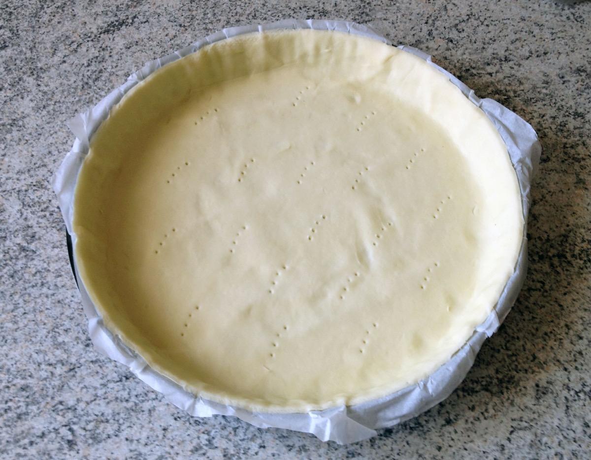 tarte poires chocolat frangipane prepa 1 - Tarte aux poires, chocolat et frangipane