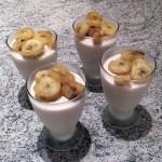 glace legere yaourt banane 1 - Glace légère au yaourt et à la banane