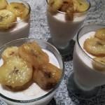 glace legere yaourt banane 2 - Glace légère au yaourt et à la banane