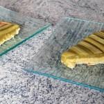 tarte amandes rhubarbe 5 - Tarte Rhubarbe et crème d'amandes