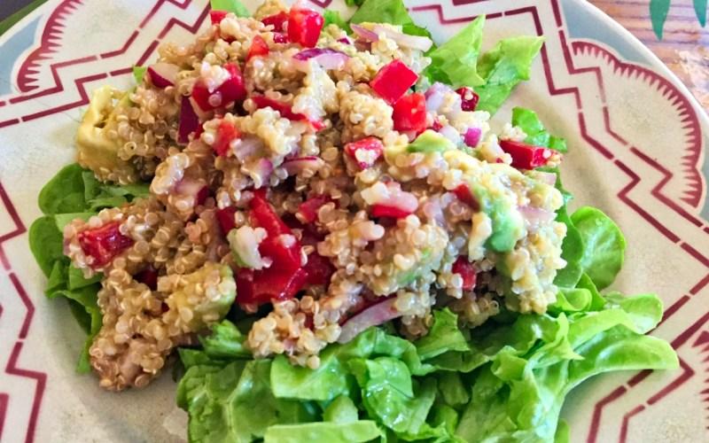 salade legumes quinoa 2 - Zebra cake vanille-chocolat (Gâteau zébré / tigré)