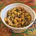 salade pommes de terre oignons cornichons 2 - Salade de pommes de terre, oignons et cornichons
