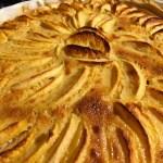 tarte pommes alsacienne 2 - Tarte aux pommes à l'Alsacienne
