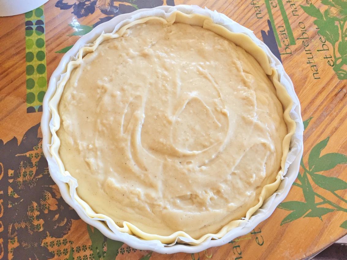 flan patissier prepa 3 - Flan pâtissier (recette Companion)