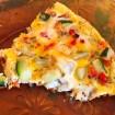 omelette courgette poivron 1 - Dossier : Gâteaux d'anniversaire