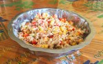 salade riz thon mais poivron 2 - Salade de riz au thon, maïs et poivron