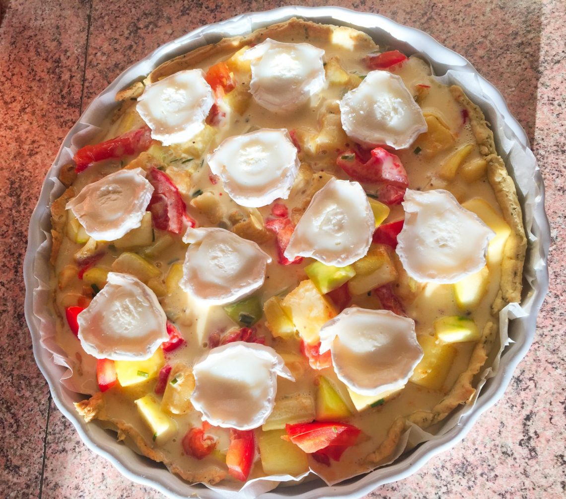 IMG 0698 - Tarte Courgettes, tomates, chèvre