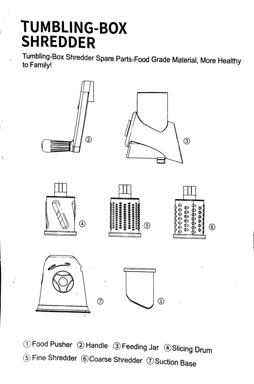 IMG 1488 - On a testé : La râpe / trancheuse multifonctions Baban