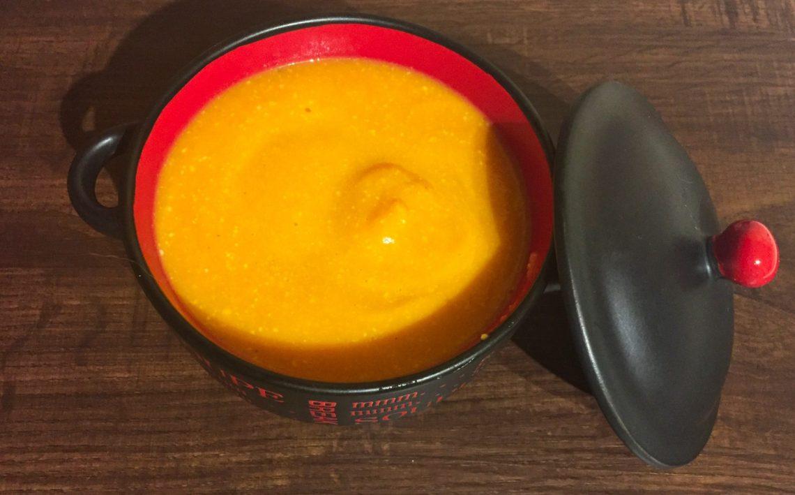 IMG 1723 - Velouté de carottes au Brie (recette Companion)
