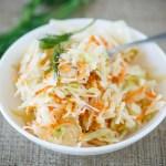 coleslaw2 - Coleslaw (salade chou / carotte)