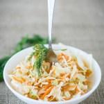 coleslaw4 - Coleslaw (salade chou / carotte)