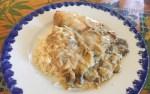 IMG 1973 - Escalopes de poulet crème, champignons, moutarde