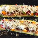 IMG 3850 - Courgettes au chorizo façon pizza