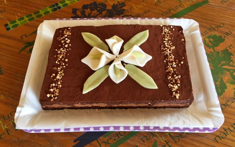 IMG 3909 - Zebra cake vanille-chocolat (Gâteau zébré / tigré)