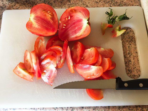 IMG 4091 - Salade poulet, bacon, tomate et artichaut