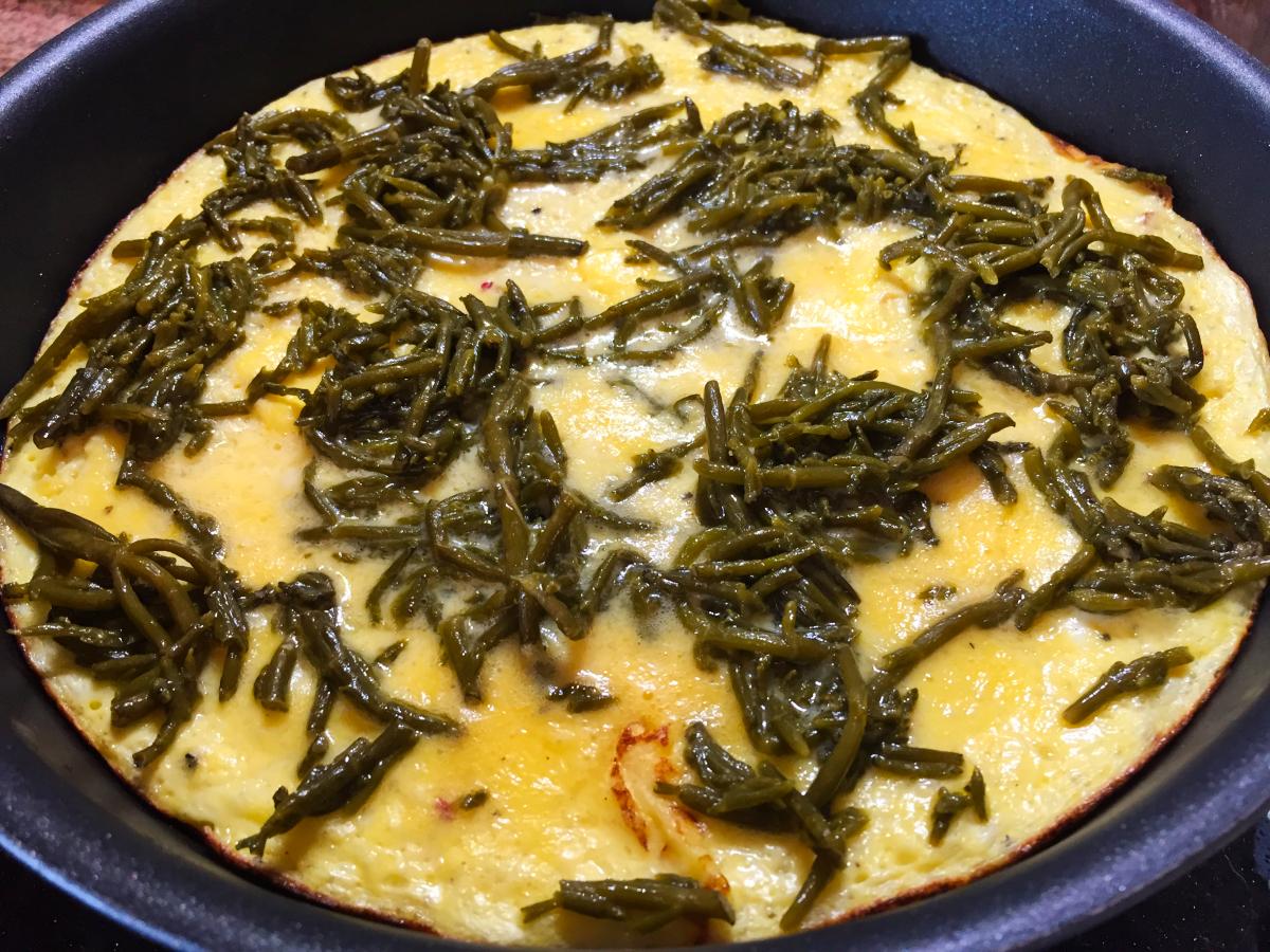 IMG 4123 - Omelette à la salicorne