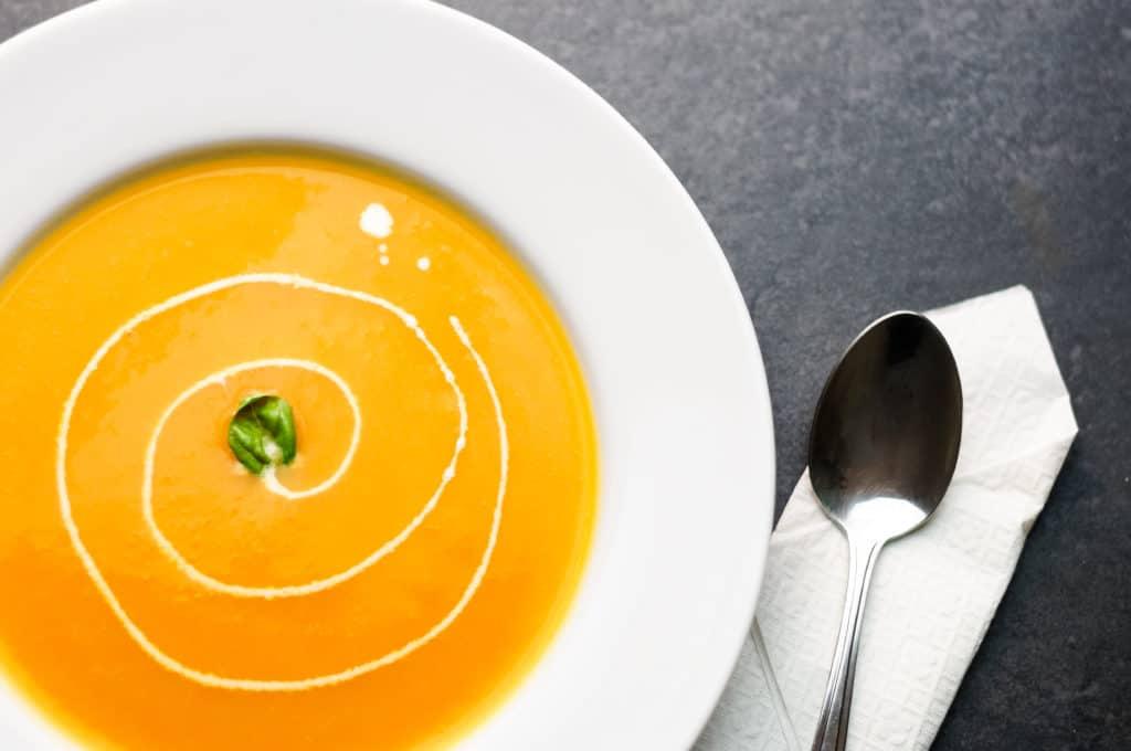 soupe potiron 1024x680 - Velouté de Courge / Potiron