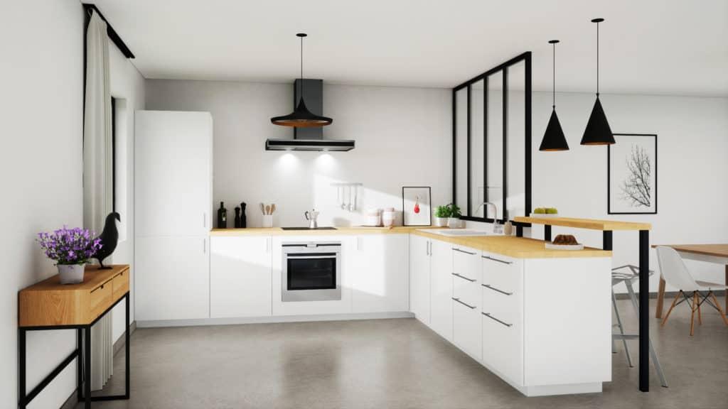 11 modeles de cuisines blanches au top
