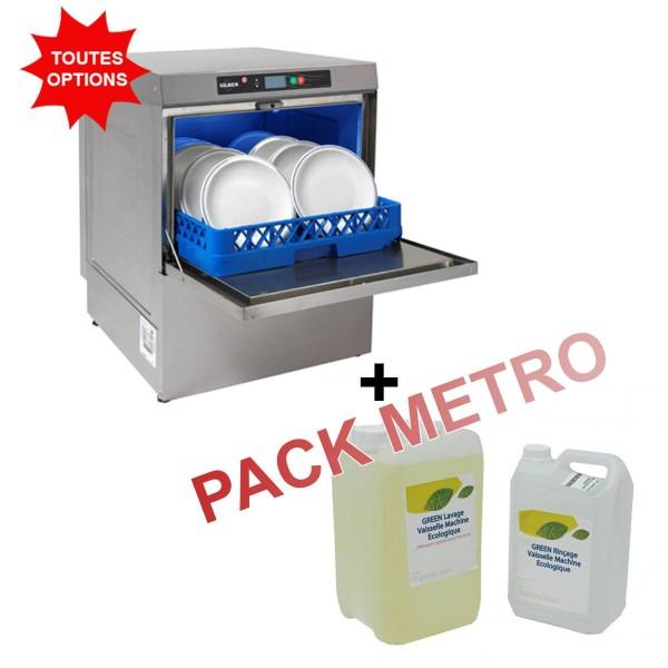 Lave Vaisselle Professionnel Frontal Pack Metro