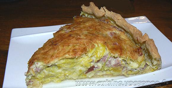 Quiche Lorraine Version B 233 Chamel Une Cuisine Pour Voozenoo