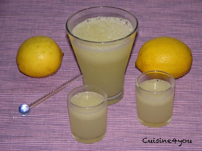 Limón granizado con Thermomix