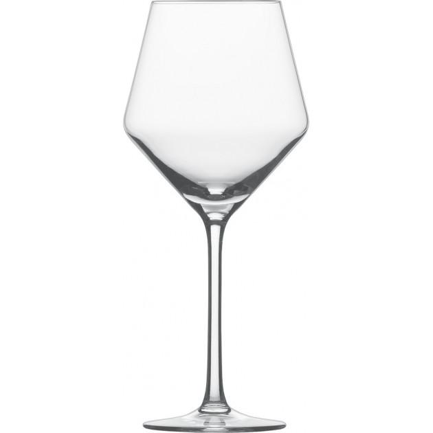 verre a vin rouge beaujolais 465 ml x6 schott zwiesel pure