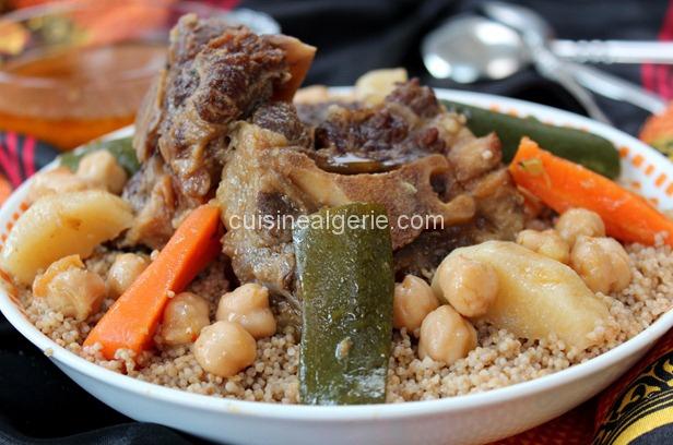 Couscous Kabyle d'orge