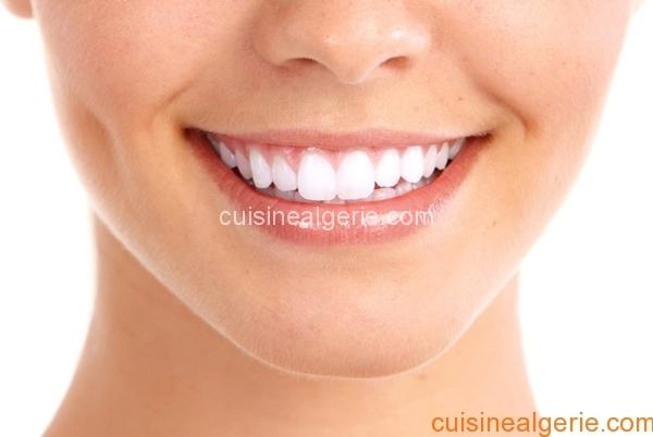 Aliments pour blanchir les dents