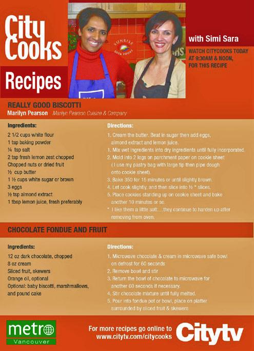 city cooks menu