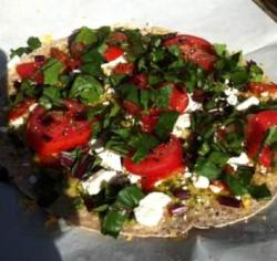 garden beets.on pizza