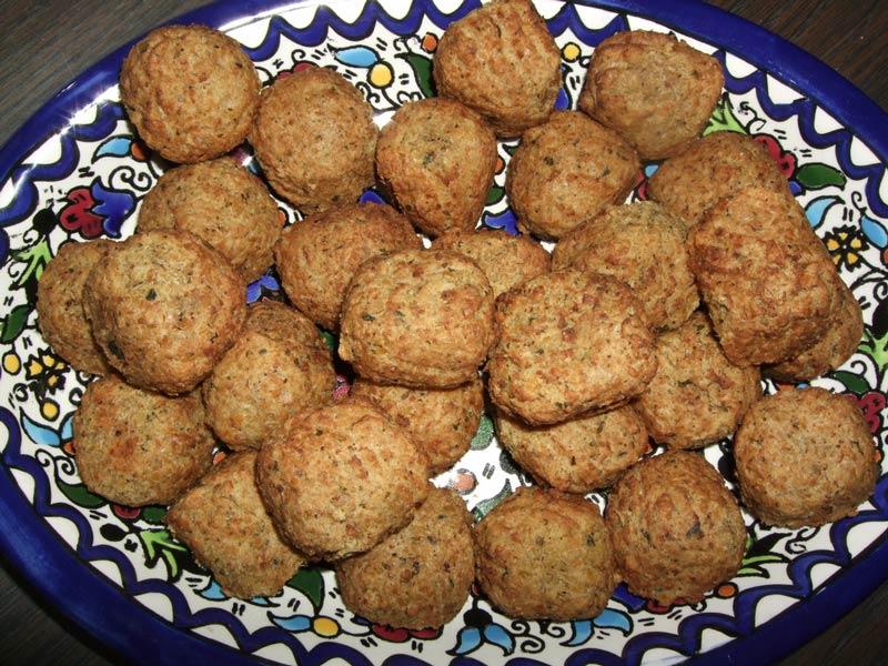 des falafels prets à etre degustés